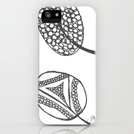 Wee Leaves iPhone Case