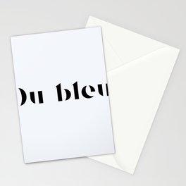119. Blue Stationery Cards