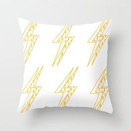 BLINDED LIGHT Throw Pillow