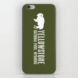 Bison: Yellowstone National Park iPhone Skin