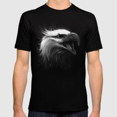 Eagle Eye LARGE Black Mens Fitted Tee