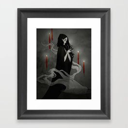 Toil and Trouble Framed Art Print