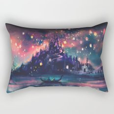 The Lights Rectangular Pillow