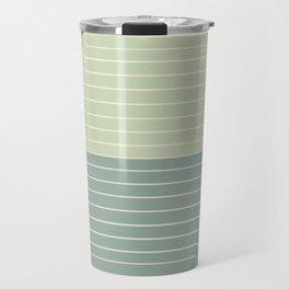 Two Tone Line Curvature XXX Travel Mug