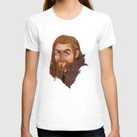 fili T-shirts featuring Fili - Dean O'gorman  by Blanca Limón