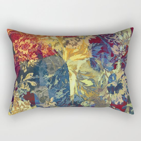 hide and seek floral 2 Rectangular Pillow