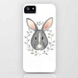 Buns the Grumpy Bunny iPhone Case