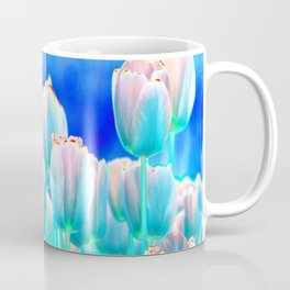 Tulips in Spring Abstract Coffee Mug