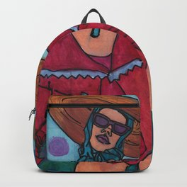 Sally at the Sea Shore Backpack