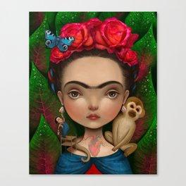 Dieguito and I Canvas Print