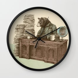 Bearocrat Wall Clock