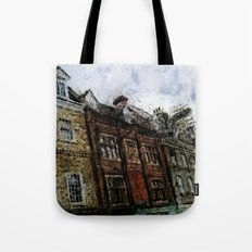 In The Streets Of My Town Tote Bag