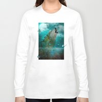 hobbes Long Sleeve T-shirts featuring I'll See You In My Dreams (Cry of the Wolf) by soaring anchor designs
