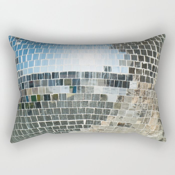 Mirrors discoball Rectangular Pillow