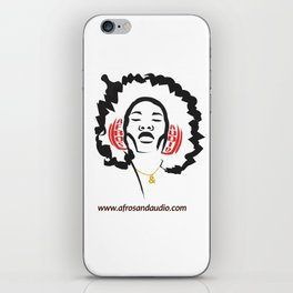 Afros & Audio Official Logo iPhone Skin