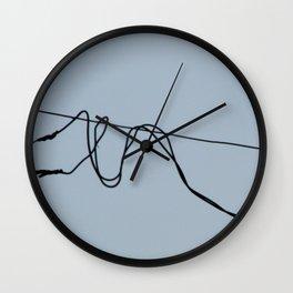 Fios e construção (2) Wall Clock