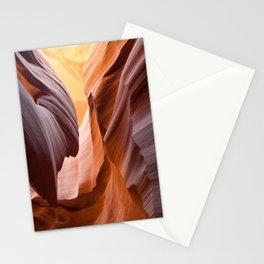 antelope canyon beam Stationery Cards