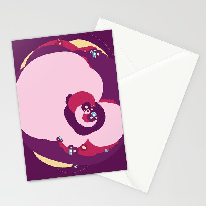 Random Abstract 01 Stationery Cards