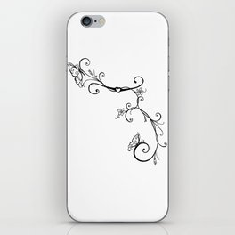 Butterfly Vines iPhone Skin