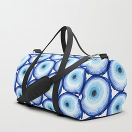 Tree Ring - Indigo Duffle Bag
