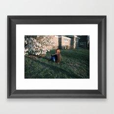 Throe Framed Art Print