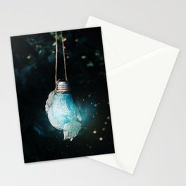 birth of the light Stationery Cards