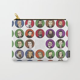 Portraits of Important Scientists Carry-All Pouch