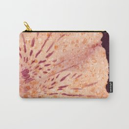 Marbled Peruvian Lily Carry-All Pouch