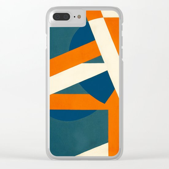Geometric Solution Clear iPhone Case