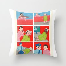 Know your Enemy Throw Pillow