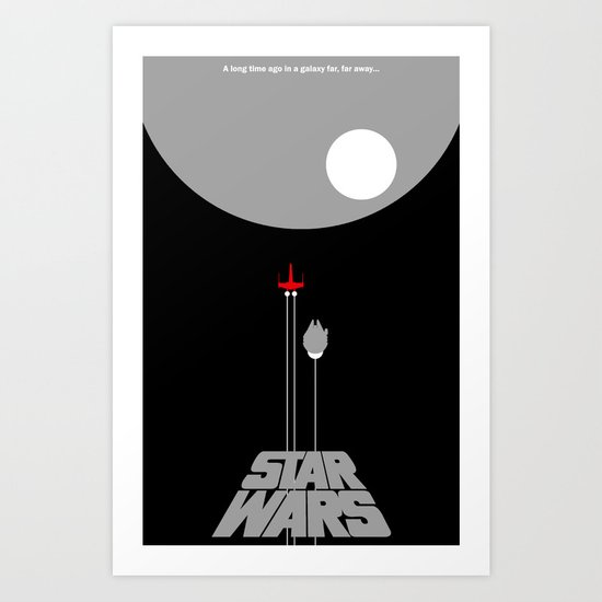 A New Hope III Art Print