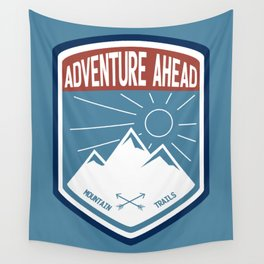 Adventure Ahead - Color Wall Tapestry