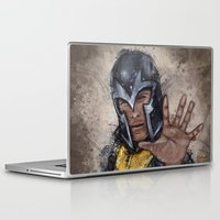 magneto Laptop & iPad Skins featuring Magneto. by Emiliano Morciano (Ateyo)