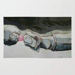 Inked girl#1 Rug