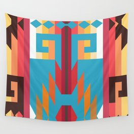 American Native Pattern No. 151 Wall Tapestry