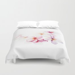 Gentle floral arrangement Duvet Cover