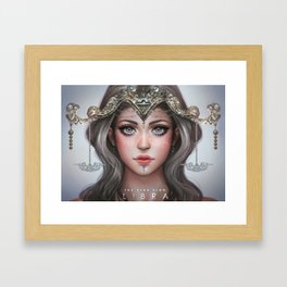Libra - The Star Sign Framed Art Print