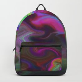Turbulence - Midnight flower Backpack