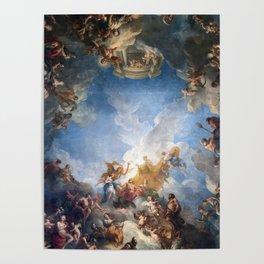 Château de Versailles Hercules Room Ceiling Poster