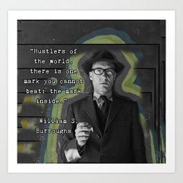 Hustlers of the world Art Print