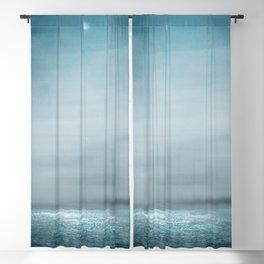 Sea Under Moonlight Blackout Curtain