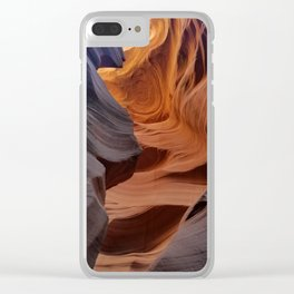 Antelope Canyon #2 Clear iPhone Case