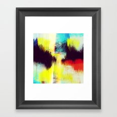 A Subdued Trance Framed Art Print