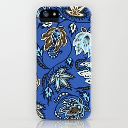 Protea Batik Hawaiian Tropical Floral iPhone Case
