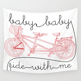 slow jamz bicycle for two Wall Tapestry