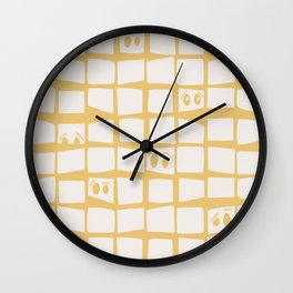 The Many Face of Me Wall Clock