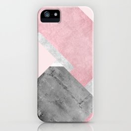 Modern Mountain No1-P1 iPhone Case