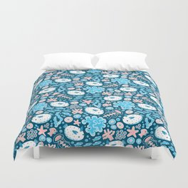 Sea Bunnies Duvet Cover