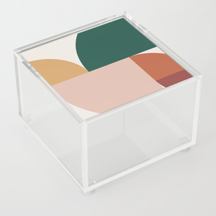 Abstract Geometric 11 Acrylic Box