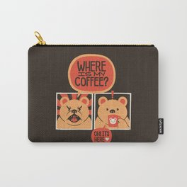 Where is my Coffee Carry-All Pouch